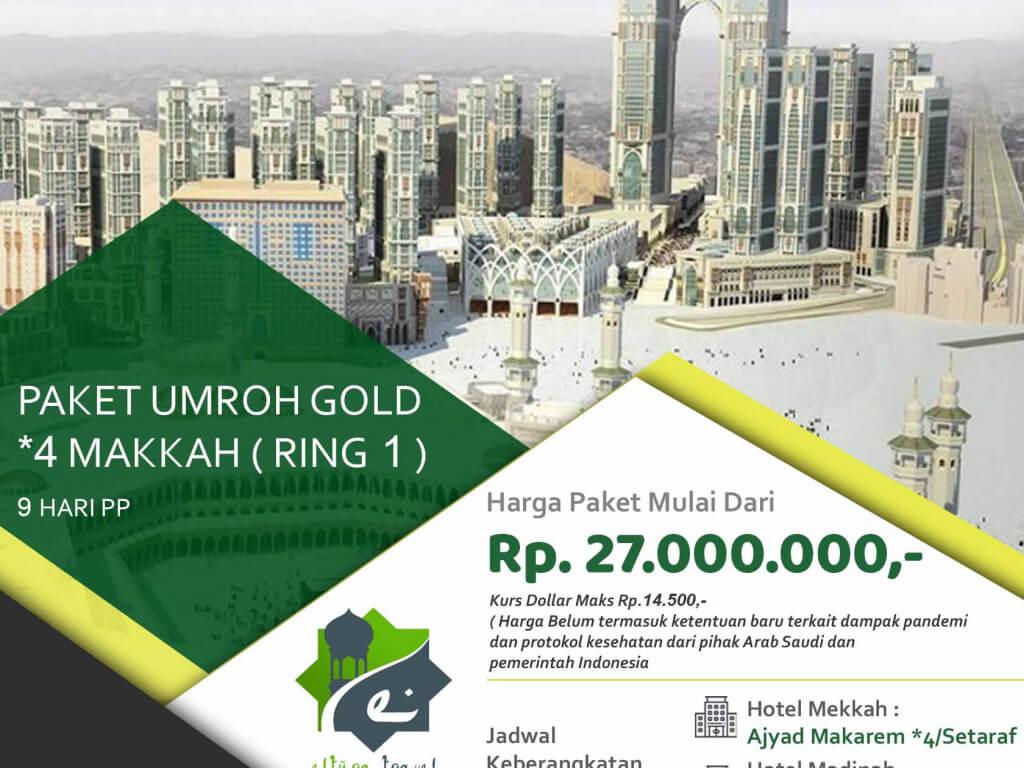 Paket Umrah Gold 4 Makah (Ring 1)