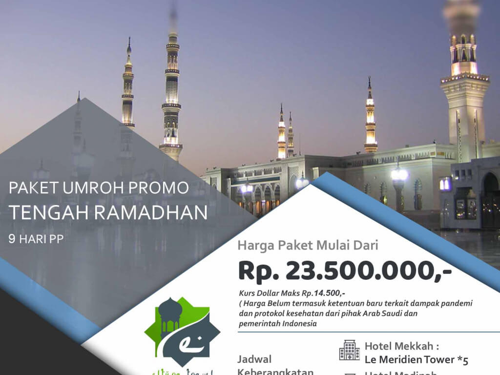Umrah Promo Tengah Ramadhan