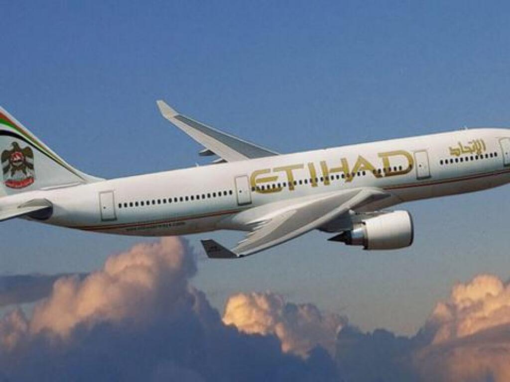 Maskapai Etihad/Oman Air