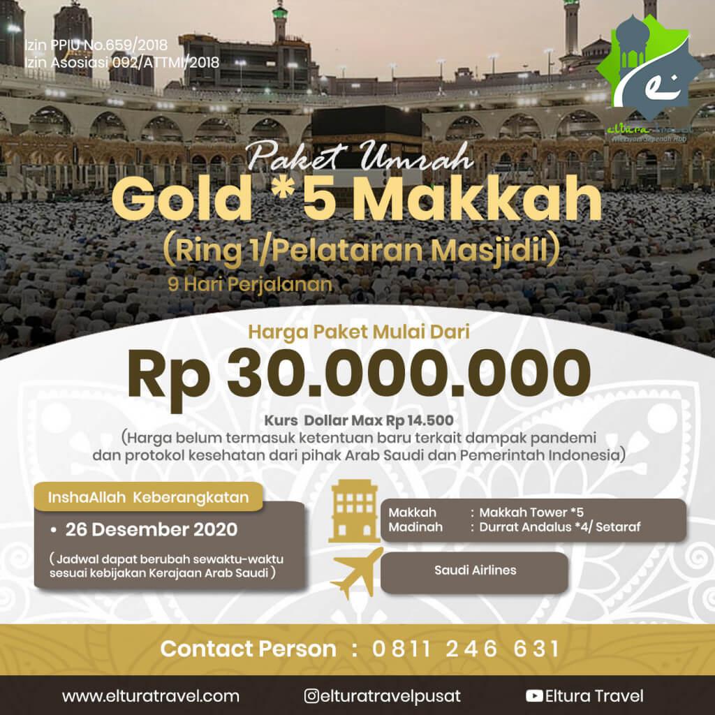 Paket Umrah Gold 5 Makkah Ring 1 Pelataran Masjidil 26 Desember.jpg